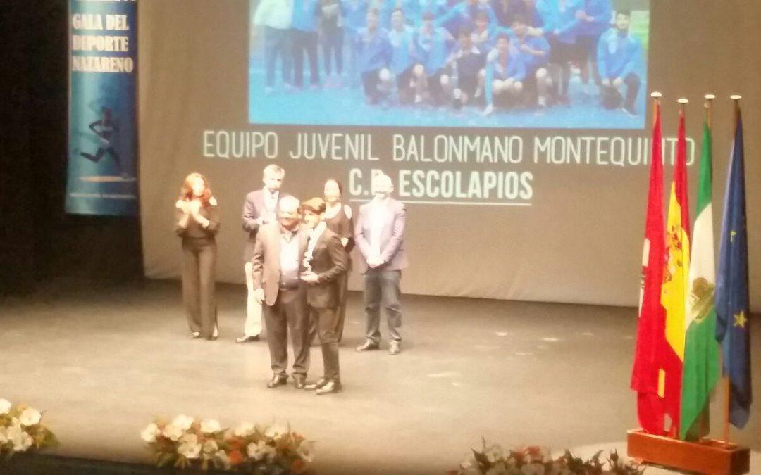 El Juvenil Andaluza Mejor Equipo de la Temporada en la Gala del Deporte Nazareno