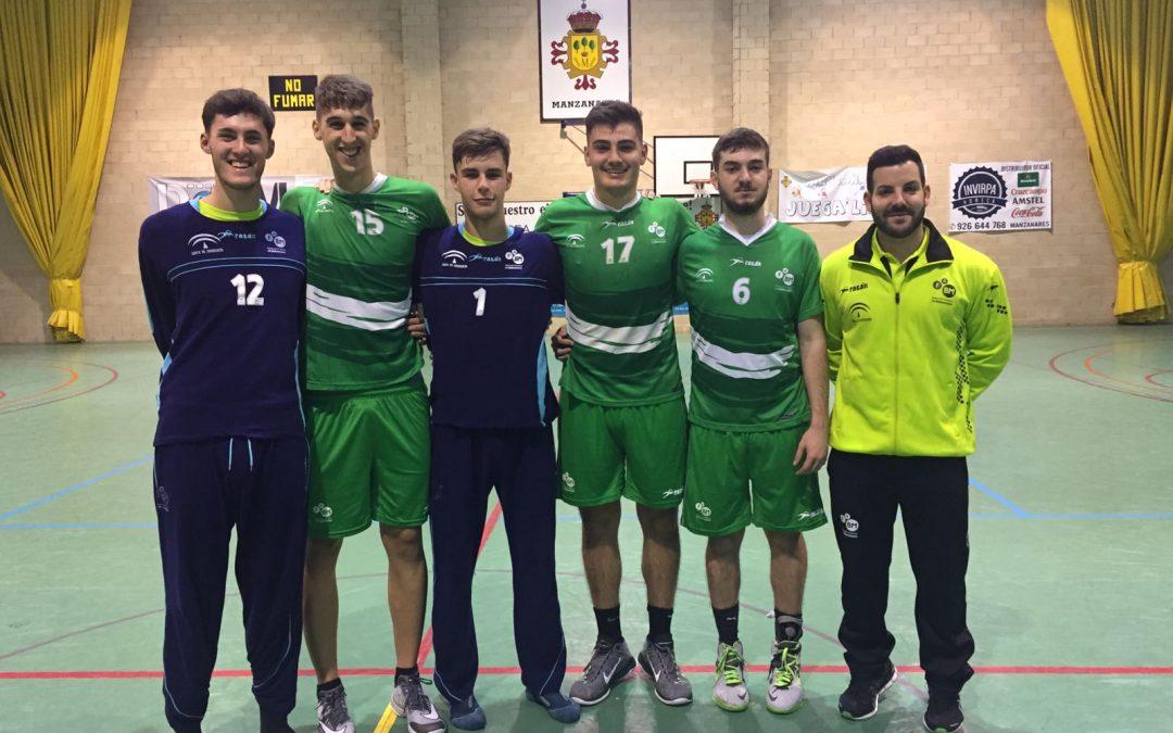 12 jugadores y el técnico Iván López con las selecciones andaluzas en el Campeonato de España por Autonomías