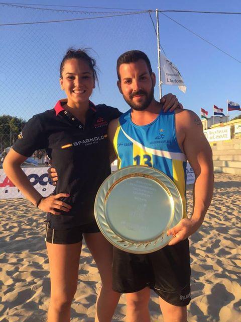 El técnico quinteño Iván López se proclama Campeón de Europa de Balonmano Playa con BM Algeciras