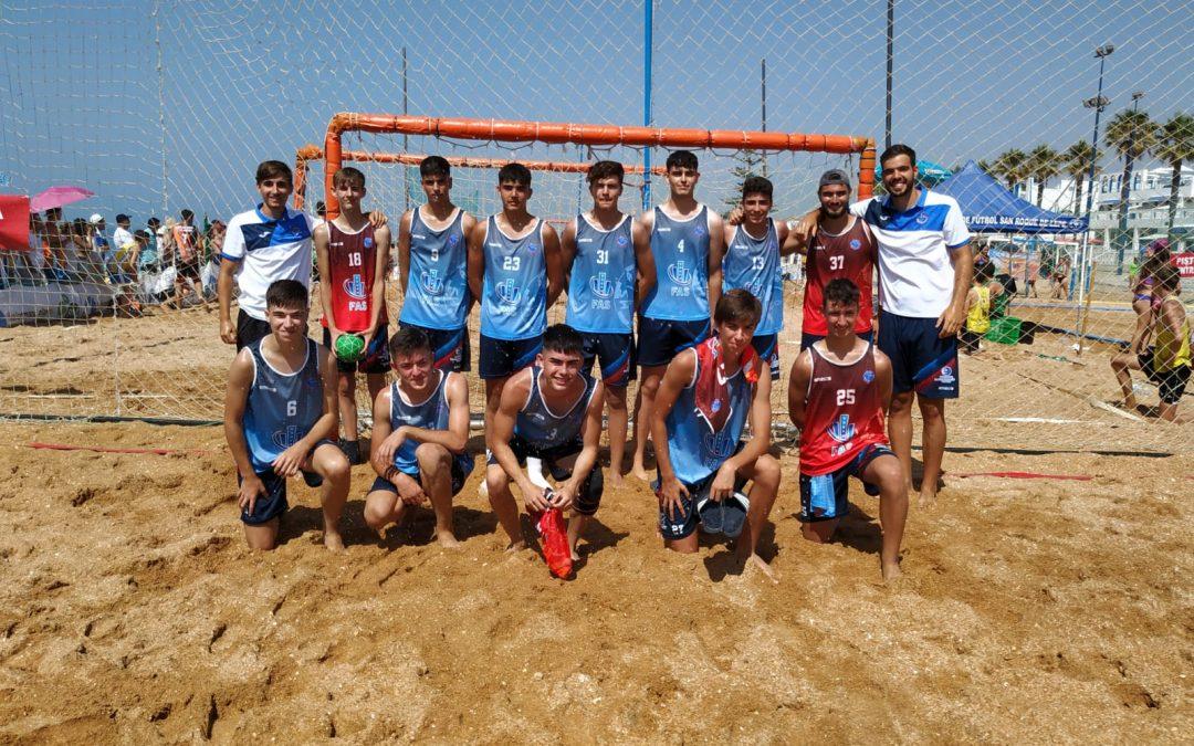 Cuatro quinteños juveniles convocados por la Andaluza de playa