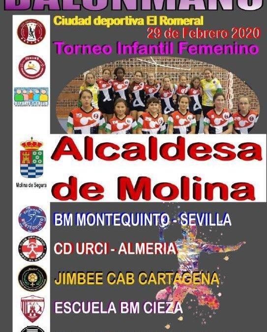 El infantil femenino participa en un torneo en Murcia