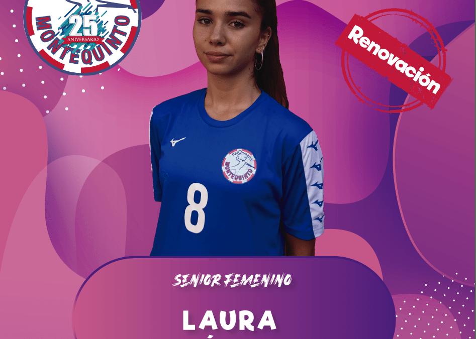 Laura Béjar, eficacia en la banda derecha