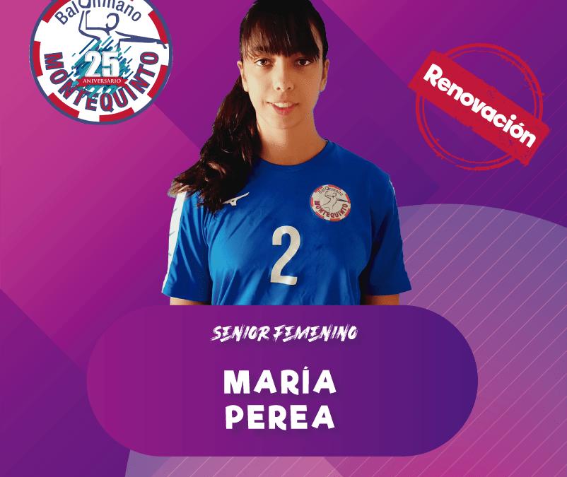 María Perea, magia en las manos