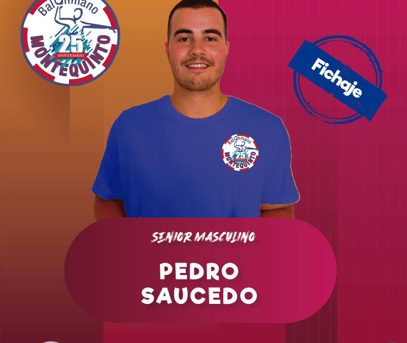 El algecireño Pedro Saucedo, primer refuerzo del senior masculino