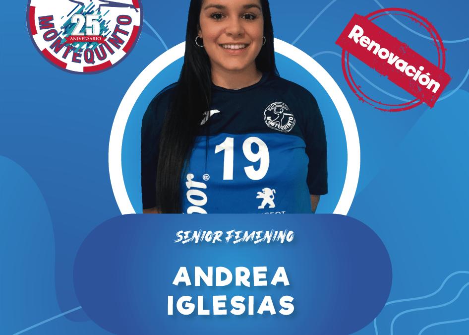Andrea Iglesias, una roca defensiva