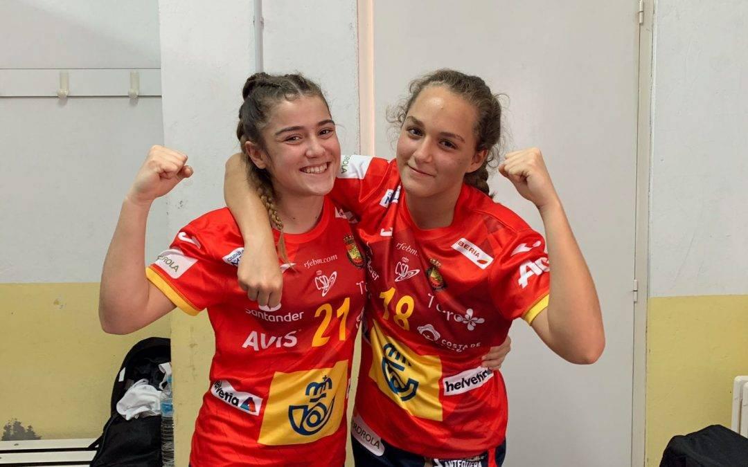 Marta y Belén debutan con la Española Promesas