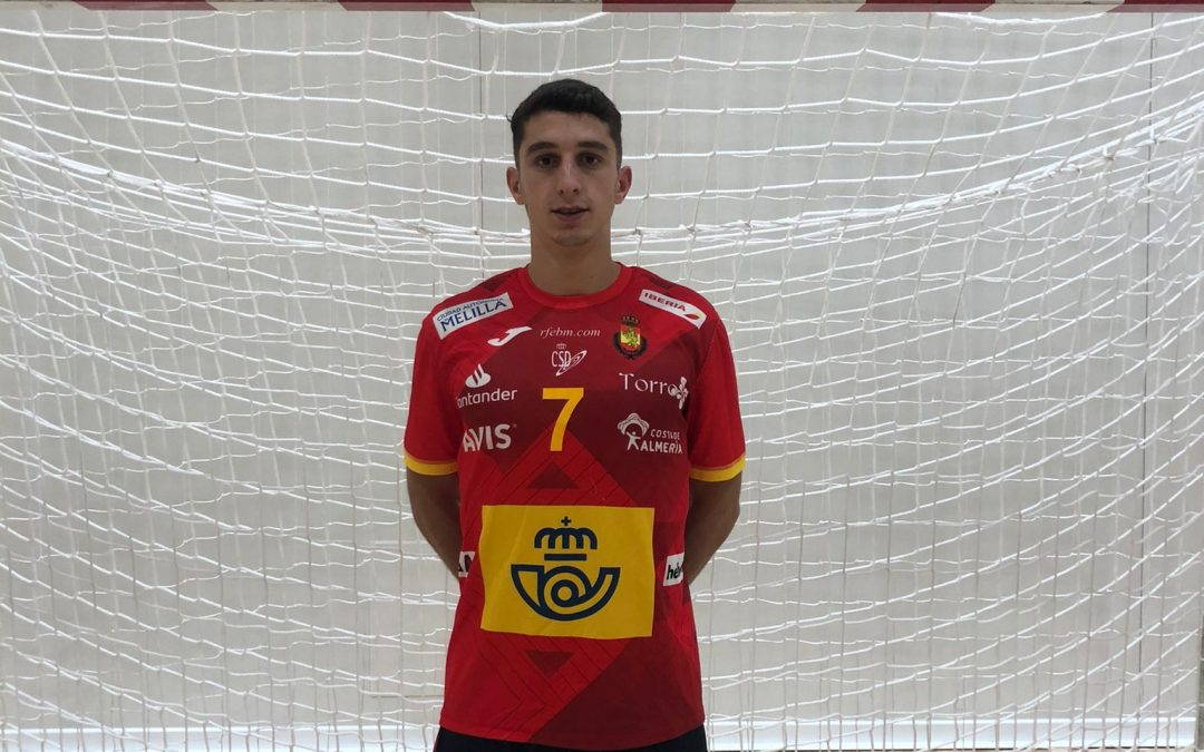 Alberto Serradilla  ganó dos partidos con los hispanos juveniles