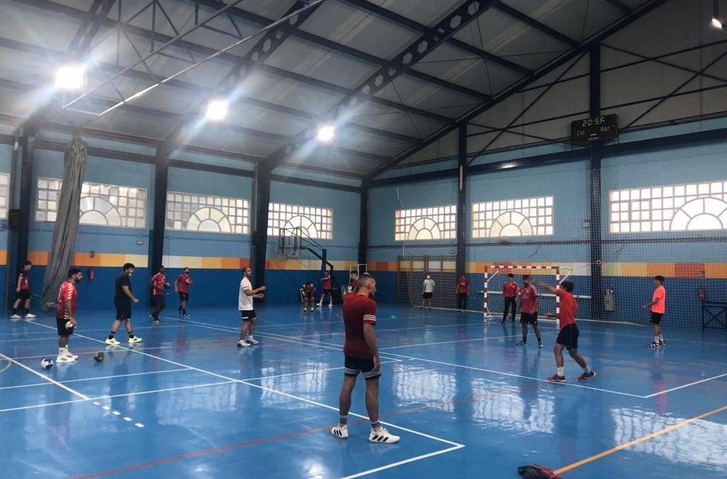 Primera semana de entrenamiento para los equipos senior quinteños